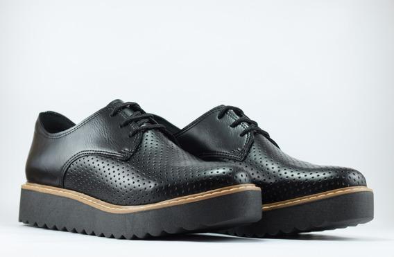 Zapatos Picados Plataforma Moda Dama Mujer Verano 2020