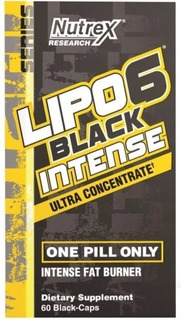 Lipo 6 Black Intense Uc 60caps Nutrex - Queimador Importado