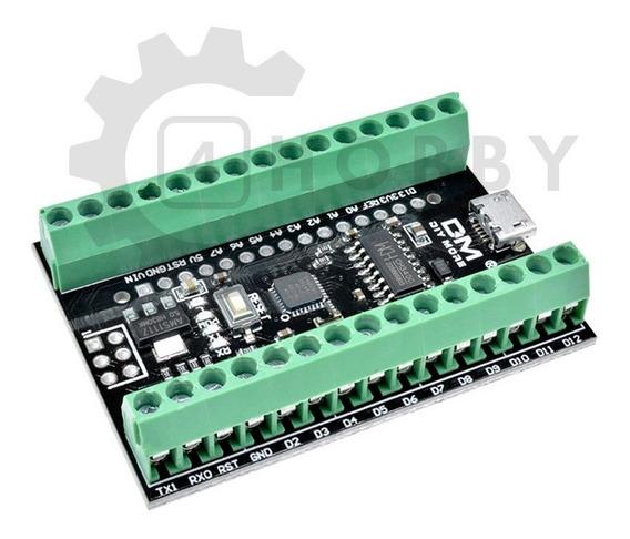 Arduino Nano 4.0 Atmega328 Com Placa Base Terminal *100110
