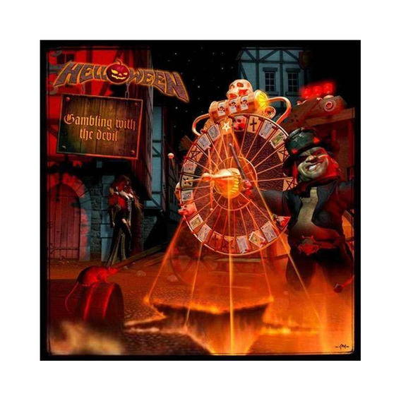 Helloween Gambling With The Devil Cd Nuevo