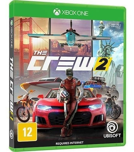 The Crew 2 Edição Limitada - Xbox One Mídia Física Português