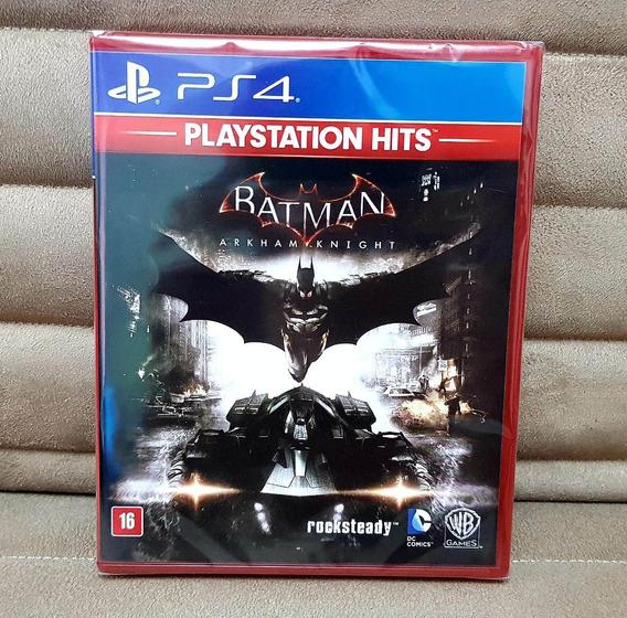 Ps4 Batman Arkham Knight ( Português ) Mídia Física Lacrado