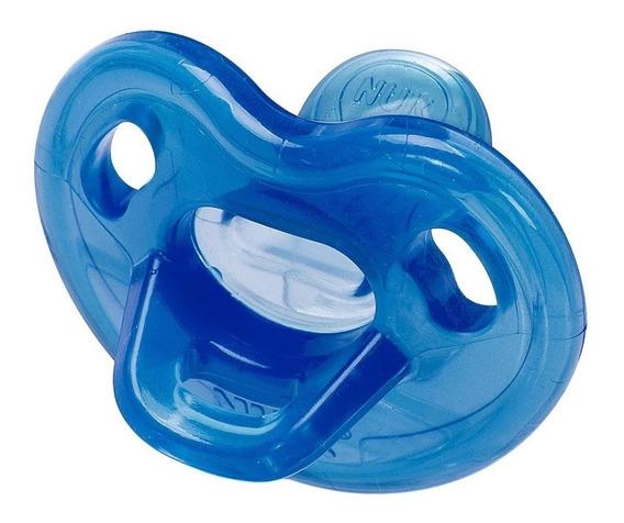 Chupeta Nuk Genius 0-6 Meses Azul 100%silicone