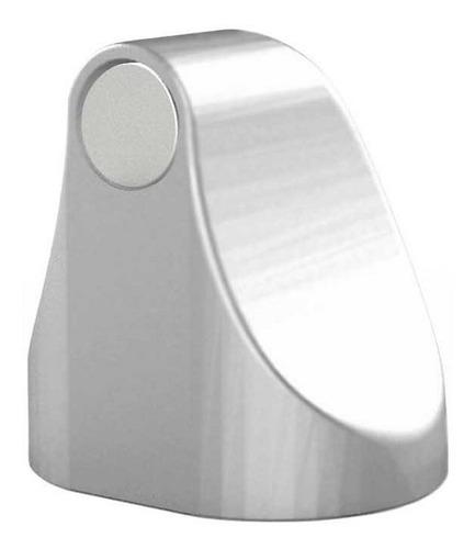 Imagem 1 de 3 de Trava Porta Magnético Universal Proteção Comfortdoor Prata