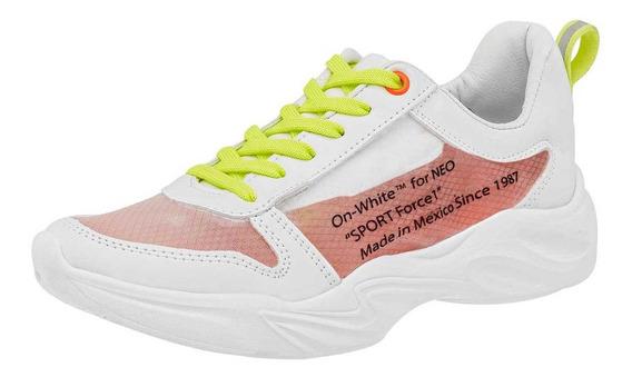 Neosport Tenis De Mujer 94937-1 Color Blanco