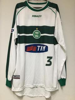 Camisa Coritiba Penalty #3 Usada Em 2001 Brasileiro