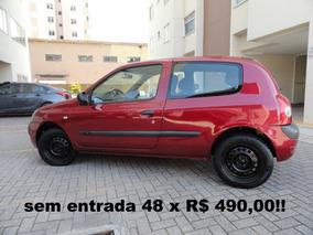 Renault Clio 1.0 16v Aut 3p Sem Entrada 48 X R$ 490,00!