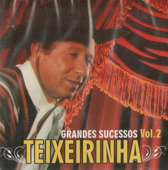 Cd Teixeirinha - Grandes Sucessos Vol .2 - Novo Lacrado***