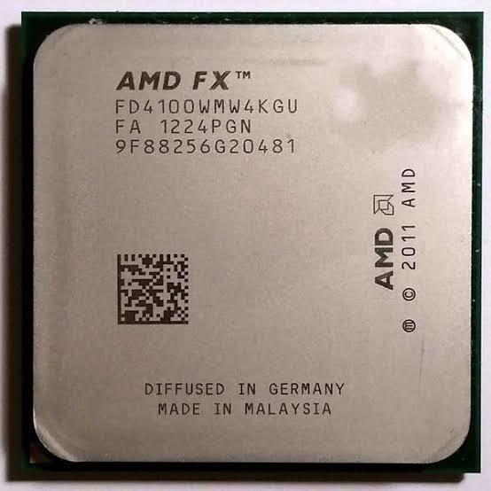 Processador Amd Fx4100 3.60ghz Oem Semi Novo