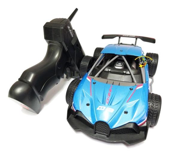 Carrinho Controle Remoto Ferro 4x2 Esportivo Super Veloz Ful