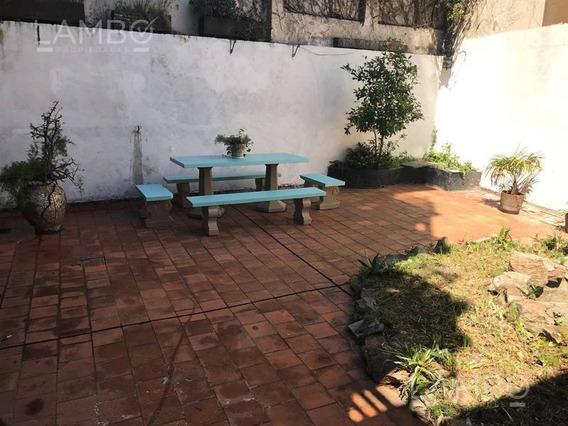 Departamento Con Patio En Planta Baja- San Cristobal. Apto Credito.