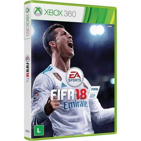 Fifa 18 - Xbox 360 - Novo - Mídia Física - Lacrado