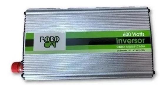 Inversor Conversor 600w Real 12v P/ 110v Onda Modificada