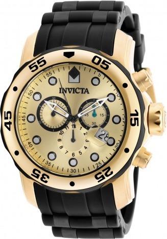 Relógio Original Invicta Pro Diver 18040 Dourado