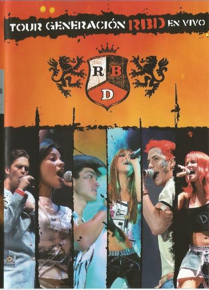 Rbd -tour Generacion En Vivo - Dvd - Ver O Video