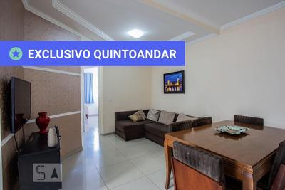 Apartamento No 2º Andar Mobiliado Com 2 Dormitórios E 2 Garagens - Id: 892929399 - 229399