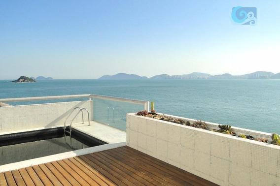 Apartamento À Venda - Condomínio Península - Praia Da Enseada - Guarujá. - Ap4385