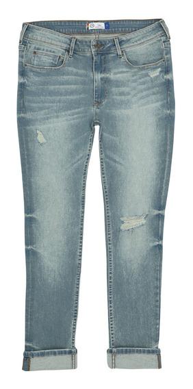 Jeans Super Skinny De Hombre C&a Stretch