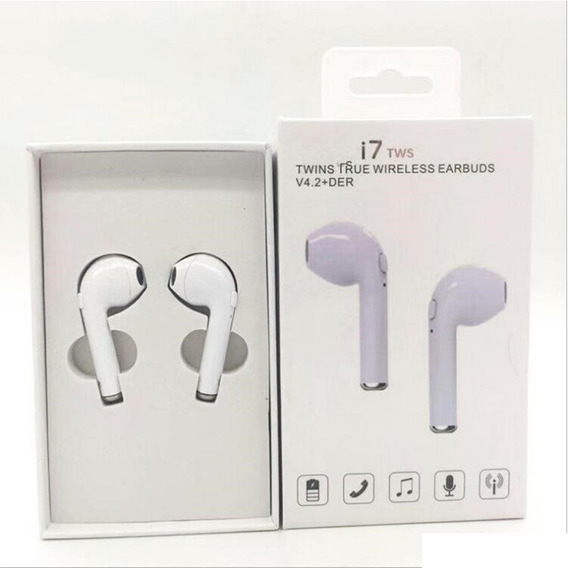 Fone Bluetooth S/ Fio Tipo AirPods I7 Tws Earphone V4.2 Edr