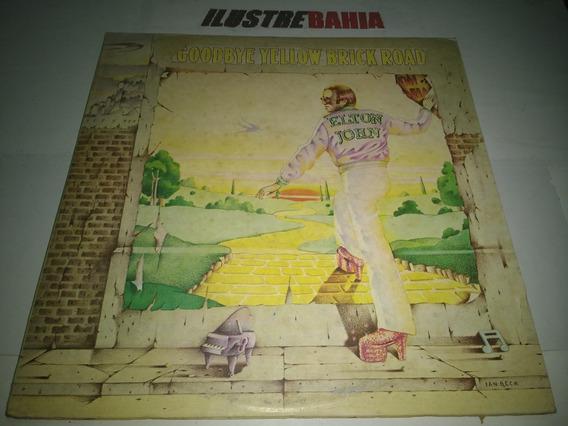 Lp Elton John Goodbye Yellow Brick Road 1973 Made England