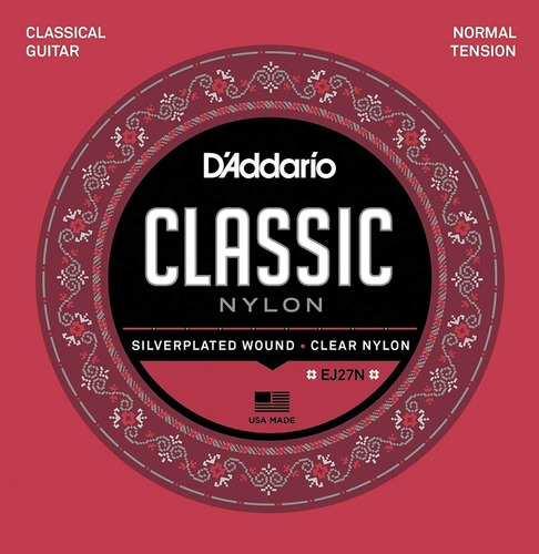 Daddario Cuerdas Guitarra Criolla Ej27n / Open-toys 41