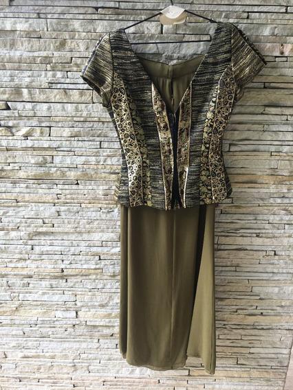 Vestido Longo De Alfaiteria