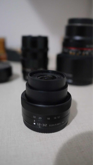 Lente Panasonic Lumix 12-32mm Pancake H-ts12032