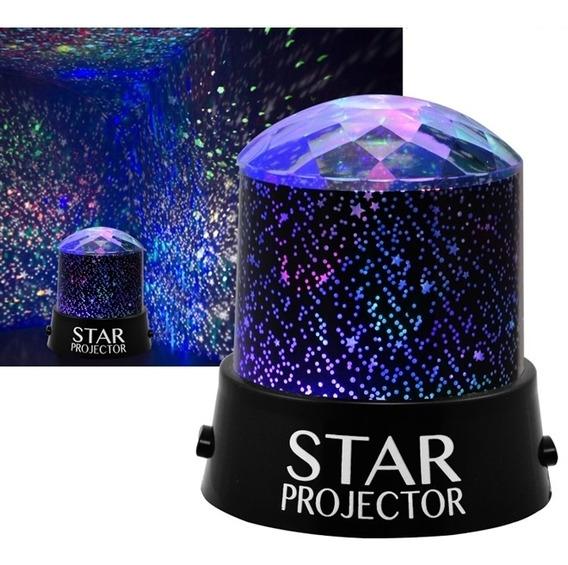 Luminaria Projetor Estrela Ceu Estrelado Quarto Bebe Criança