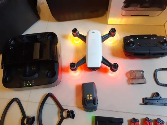 Drone Dji Spark Fly More Combo Com Acessórios
