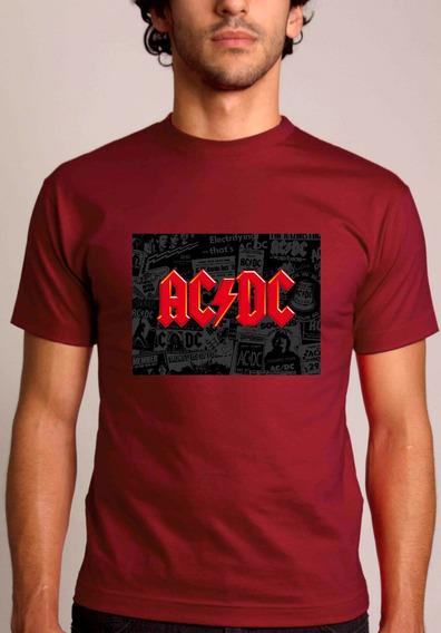 Baby Look Ou Camiseta Acdc