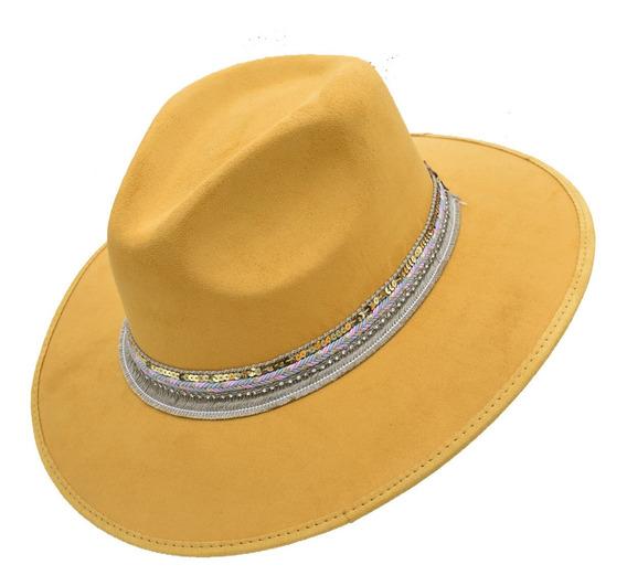 Sombrero Hipster Vintage Dama Mujer De Moda Explorer Indiana