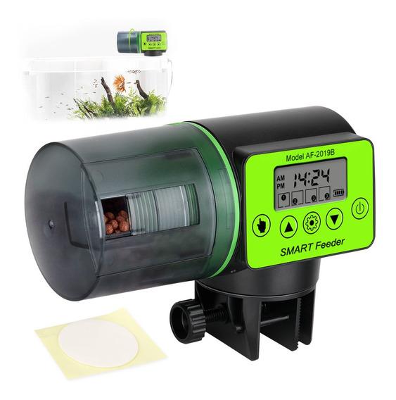 Alimentador De Peces Automático, Capacidad 200ml