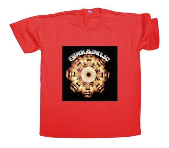 Remera Funkadelic Self Titled Algodón Unisex Funk