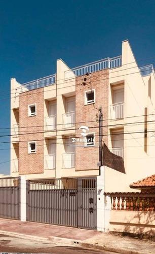 Cobertura Com 2 Dormitórios, 100 M² - Venda Por R$ 370.000,10 Ou Aluguel Por R$ 2.500,00/mês - Parque Novo Oratório - Santo André/sp - Co11246