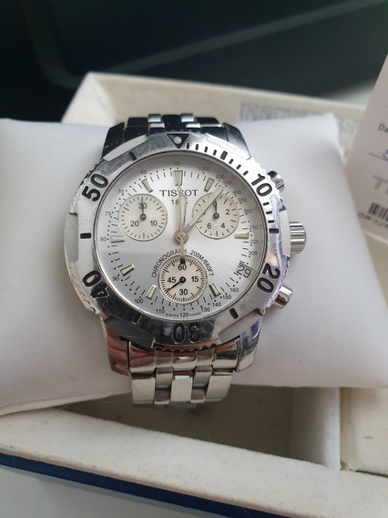 Relógio Tissot Prs 200 362-462 (com Caixa E Documentação)