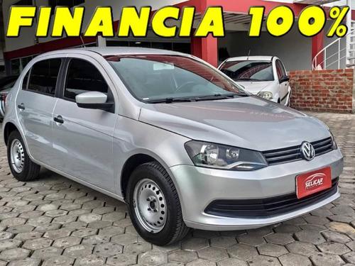 Volkswagen Gol City 1.0 2015 Completo Financia 100% (leilão