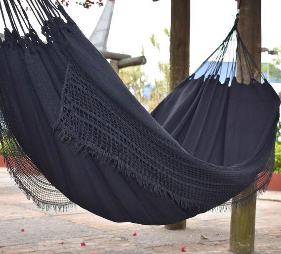 Rede De Descanso Dormir Casal E Solteiro Preta