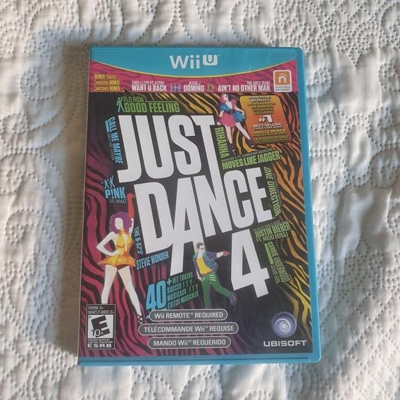 Just Dance 4 Wii U Mídia Fisica