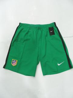 Short Atlético Madrid 2015-16 Nike Arquero Verde Y Amarillo