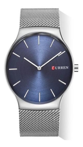 Relógio Masculino 2 Cores Luxo Curren Original + Caixa