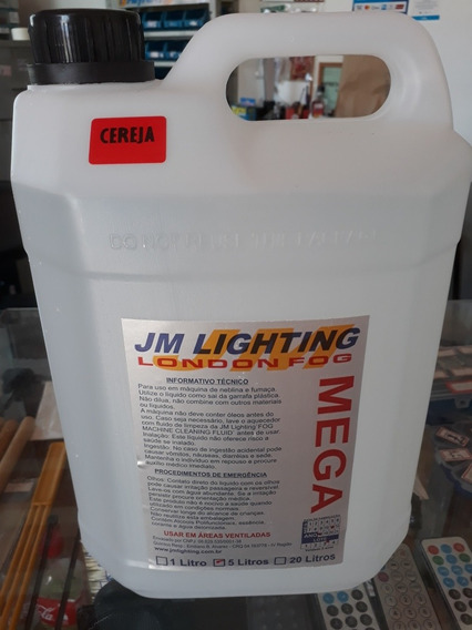 Kit Com 2x5l Jm Lighting Mega Fluido Maquinas De Fumaça