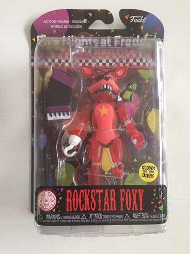Figura Five Nights At Freddys Rockstar Foxy (original)