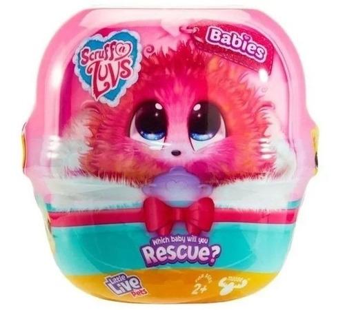 Imagen 1 de 9 de Mascota Peluche Sorpresa Scruff A Luvs Bebe Rescue Pet 30073