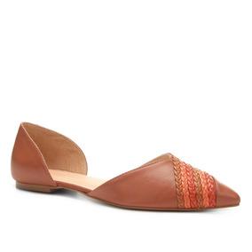 c69ea5fd9 Sapatilha Trançada, Fabrica De Jau Feminino - Sapatos Marrom no ...