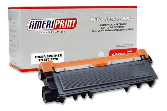 Toner Compatible Brother Tn 660 2370 Hl2360 Dcpl2540 Mfc2720