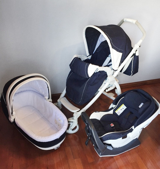 Peg Perego Book Plus (huevito + Moisés + Carro)