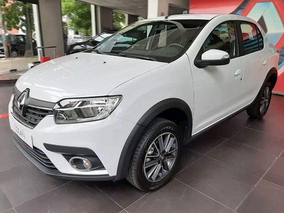 Renault Logan Intens 1.6 Rojo 2020 0km Contado Financiado