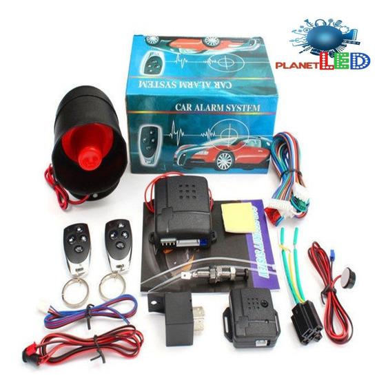 Kit Completo De Alarma Para Carro Con 2 Llaves + Obsequio