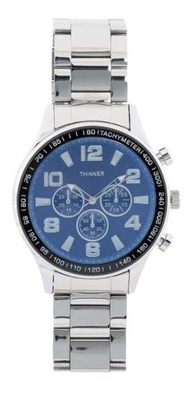 Reloj Thinner 1525 Plateado Pm-7188743
