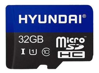 Memoria Micro Sd 32 Gb Flash 3d Sdhc Cl10 U1 Hyundai Full